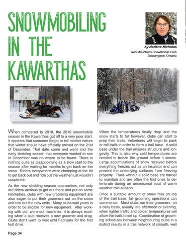 Page 34 of Snowmobiling  in the Kawarthas by Nadene Nicolas