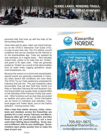 Page 35 of Snowmobiling  in the Kawarthas by Nadene Nicolas