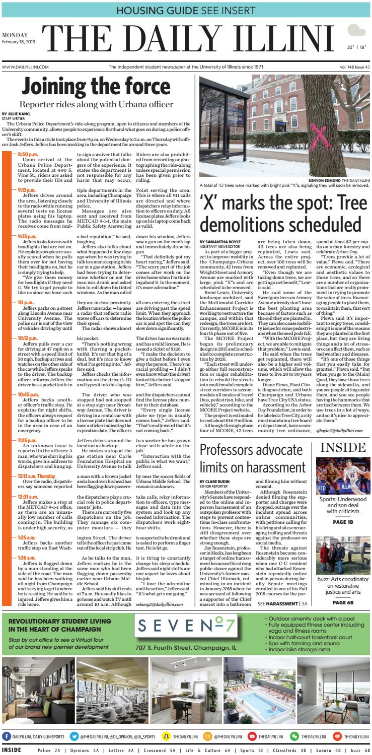 The Daily Illini: Volume 148 Issue 42 by The Daily Illini