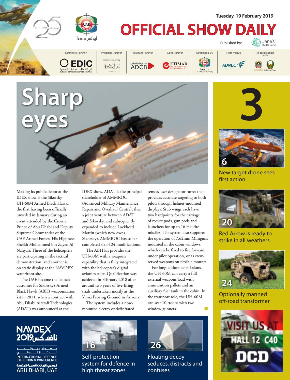5616de7c0 IDEX 2019 Official Show Daily 3 by Jane's by IHS Markit - issuu