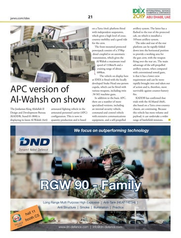 Page 21 of APC version of Al‑Wahsh on show