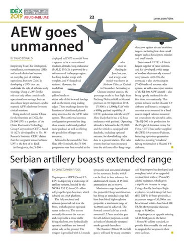 Page 22 of AEW goes unmanned