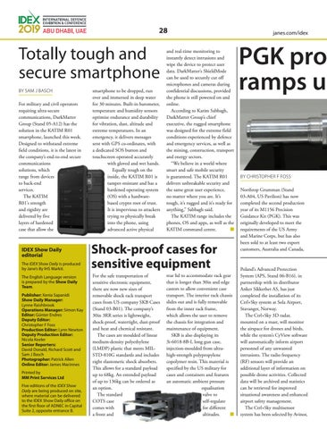 Page 28 of PGK production ramps up