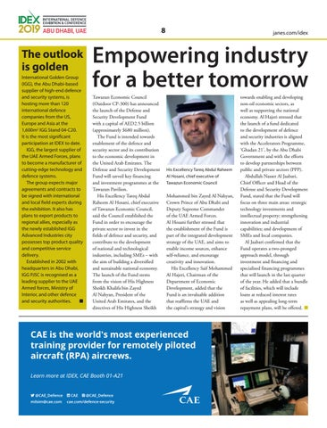 Page 8 of Empowering industry for a better tomorrow