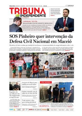 5a81b402b91 Edição número 3335 - 19 de fevereiro de 2019 by Tribuna Hoje - issuu