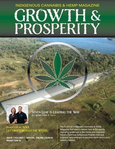 Page 1 of GROWTH AND PROSPERITY - Volume 1, Issue 1 (Winter 2018-2019)