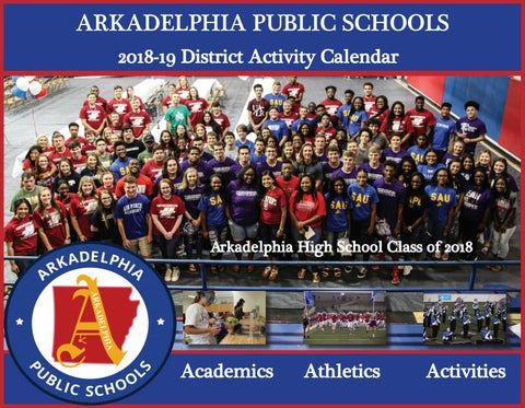 2018-19 APSD Activities Calendar by Arkadelphia Public