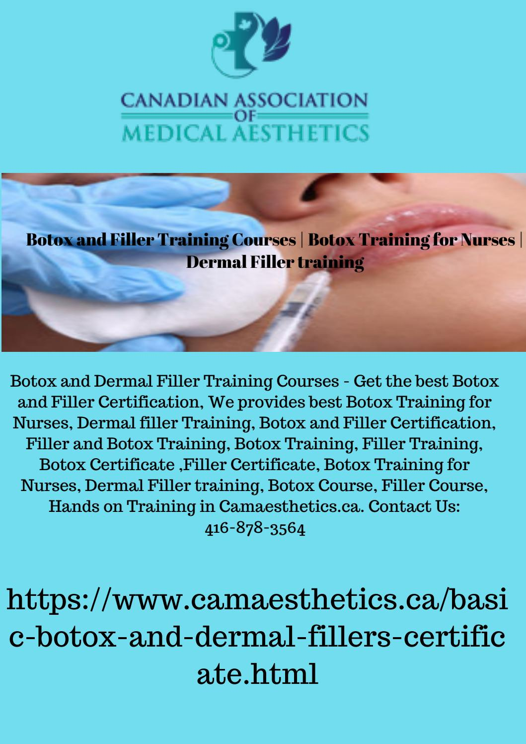 Botox and Filler Training Courses | Botox Training for Nurses