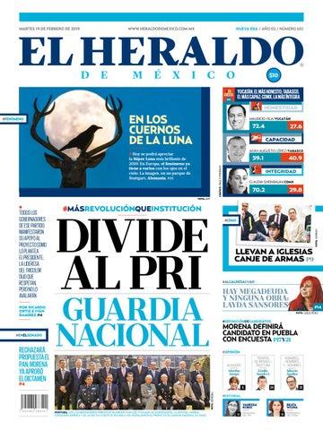 19 febrero 2019 by El Heraldo de México - issuu 0bcdf8ac8e633