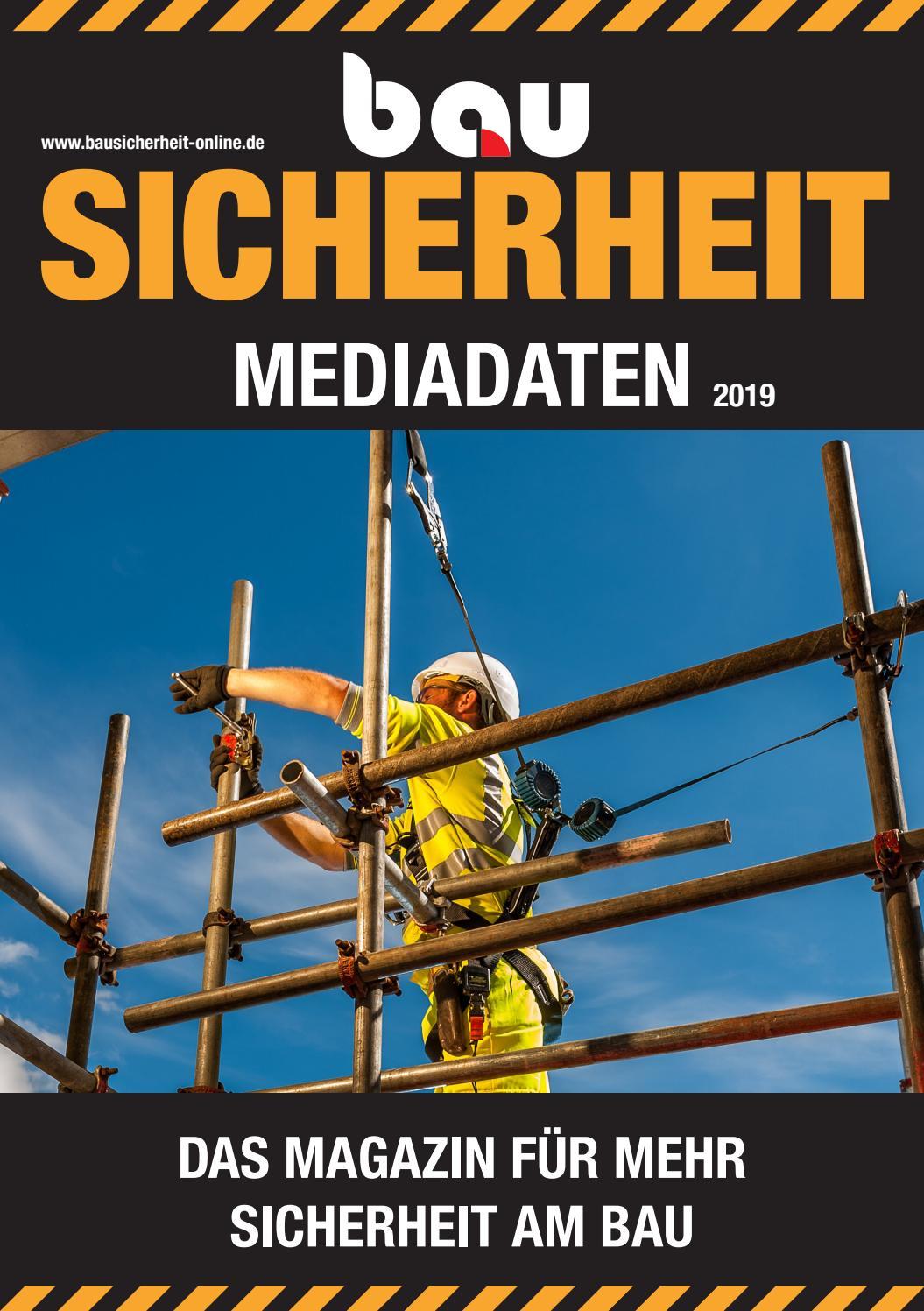 bauSICHERHEIT April 2019 by SBM Verlag GmbH issuu