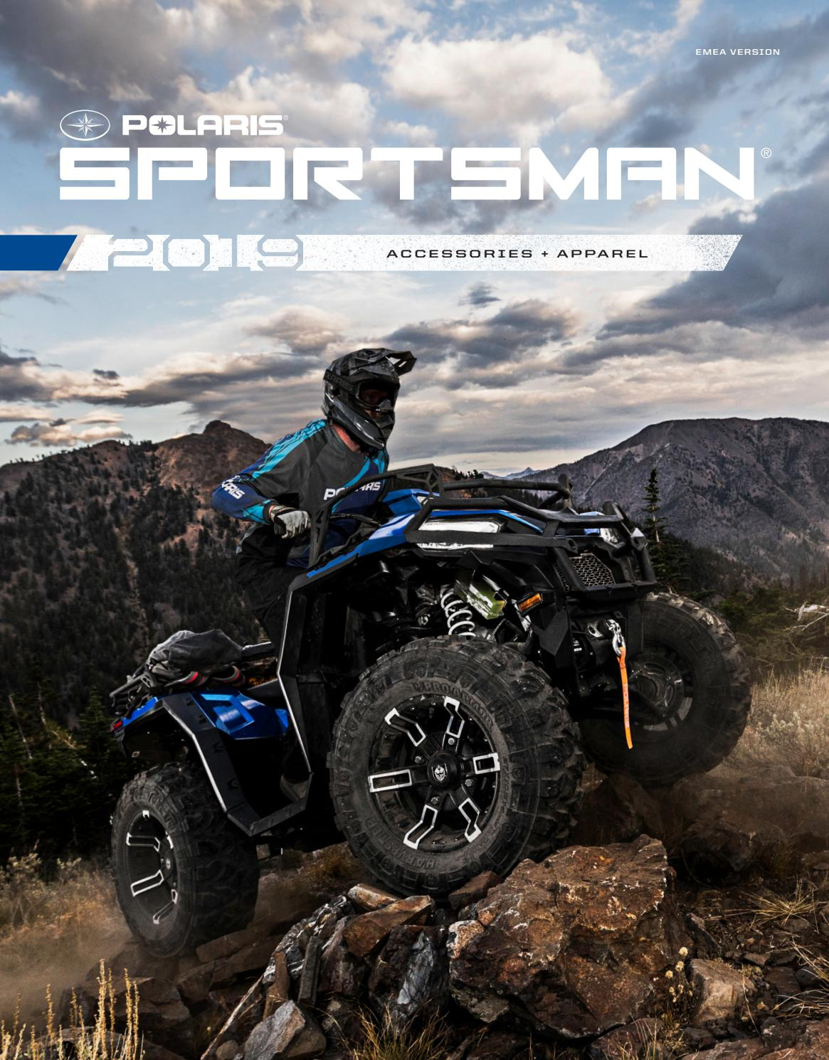 Handlebar Mounted Mirrors Kit Polaris 2877222 All 500 800 Sportsman Scrambler