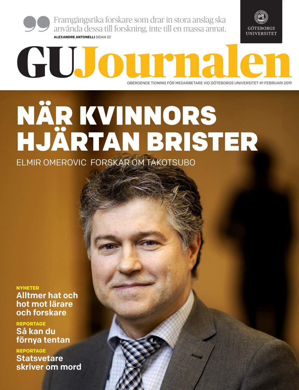 on sale 0e4d3 c0a29 GU Journalen 1-2019 by University of Gothenburg - issuu