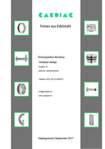 Edelstahl Stangengriff /Ø25 mit geschliffener Oberfl/äche L/änge 400mm Achsma/ß 200mm