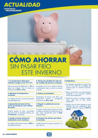 Page 26 of ¿Cómo ahorrar energía en casa?