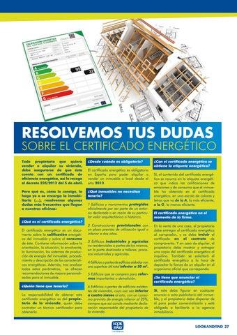 Page 27 of ¿Cómo ahorrar energía en casa?