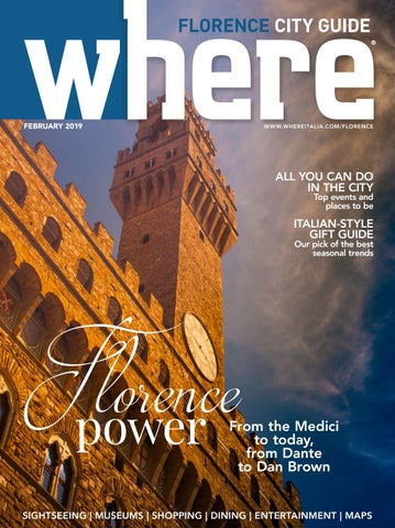Where Florence N 8 February 2019 By Where Italia Issuu