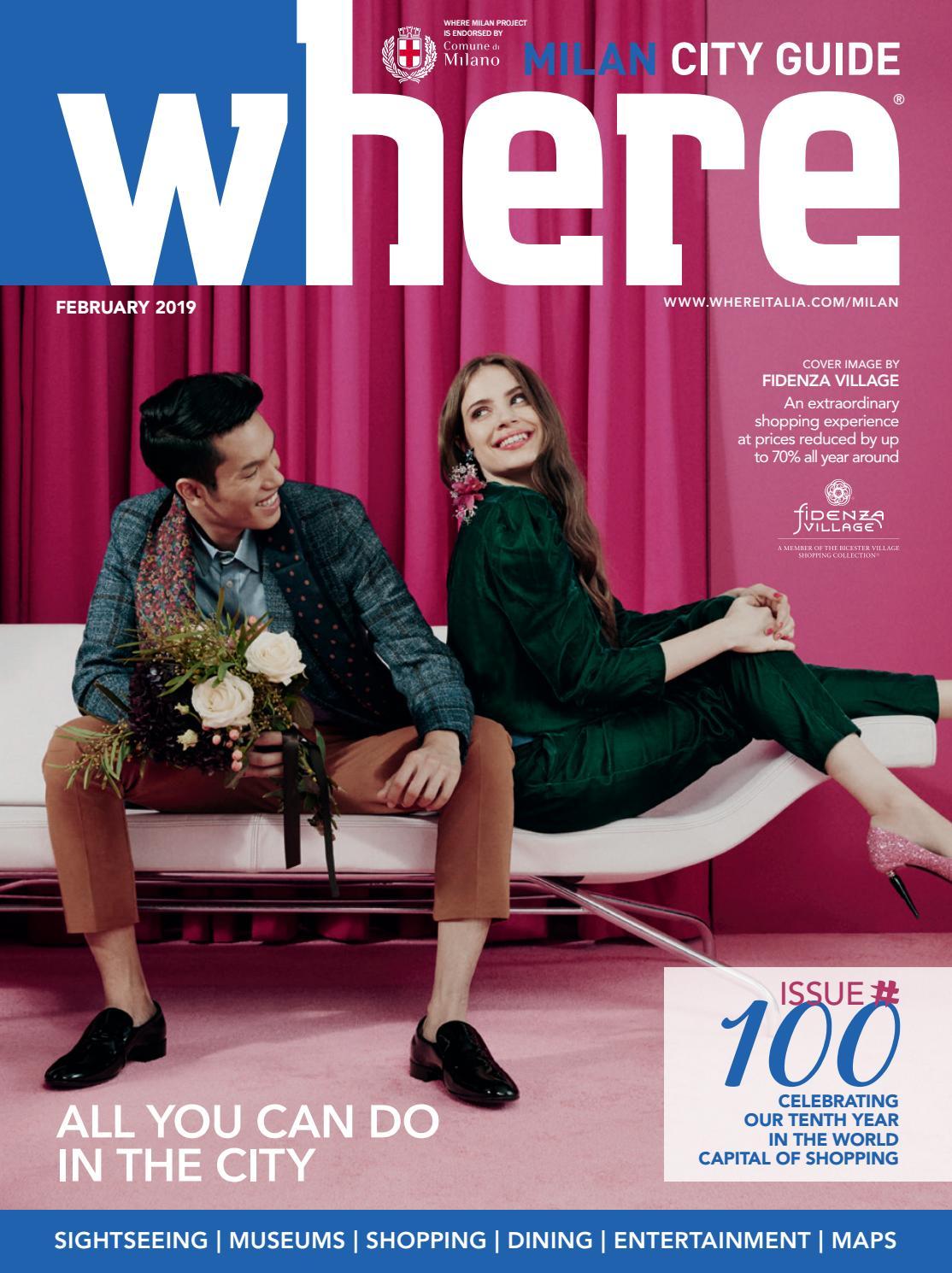 Where Milan n 100 February 2019 by Where Italia issuu