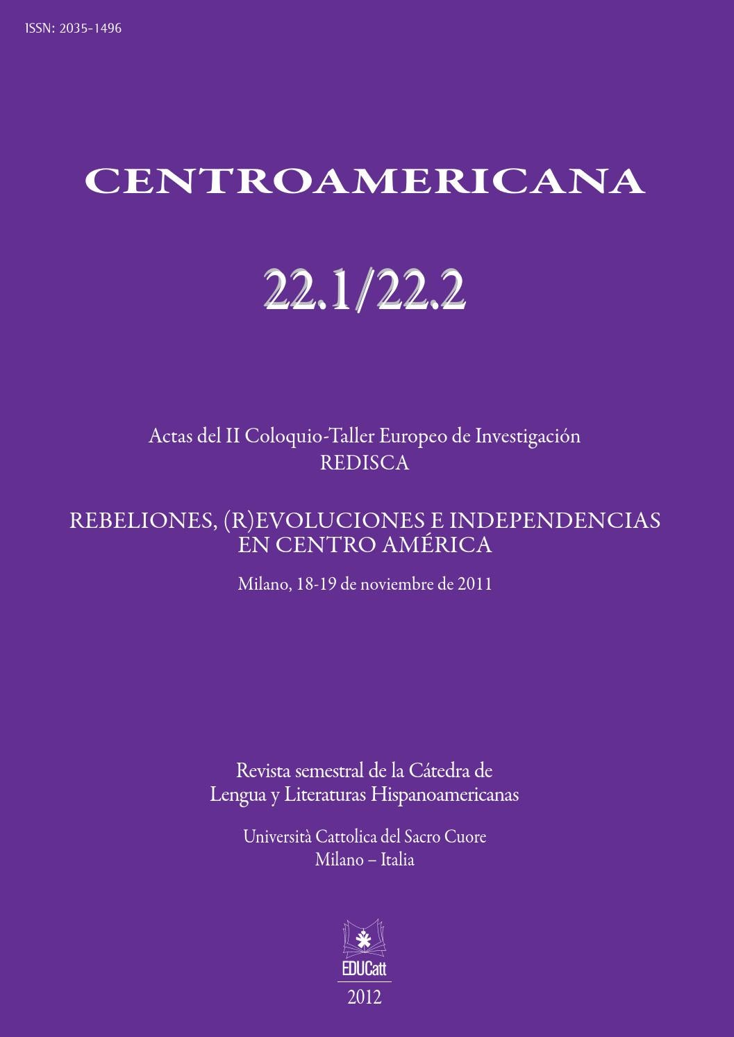 623e1b942f Centromericana 22/2012 by EDUCatt - issuu