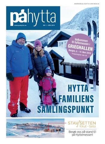 Page 1 of Nå kan du lese PÅ HYTTA - magasinet som distribueres i forkant av HYTTEMESSEN i Grieghallen - her  på issuu.com
