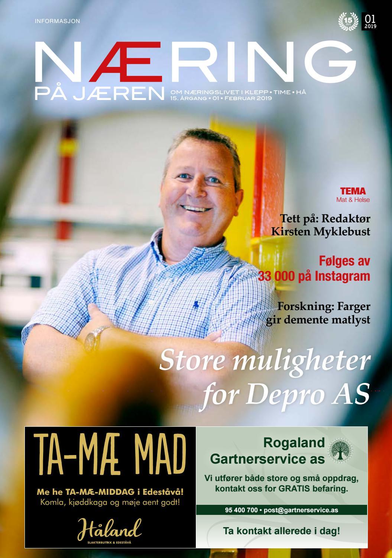 a5143719 Næring på Jæren 1-2019 by Lokomotiv Media - issuu