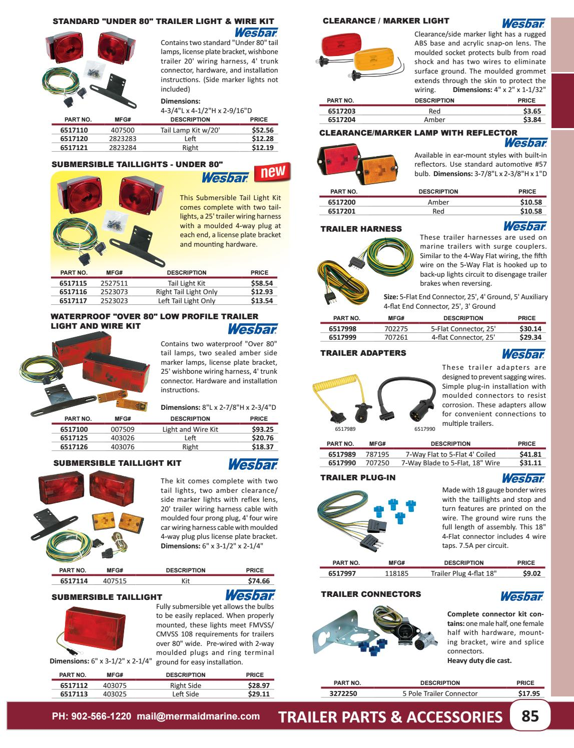 Trailer Parts by Mermaid Marine Products - issuu on