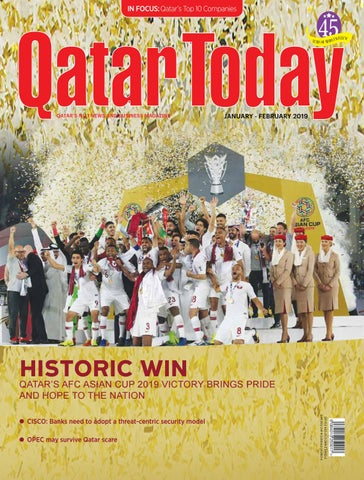 Qatar Today Jan -Feb 2019 by Oryx Group of Magazines - issuu