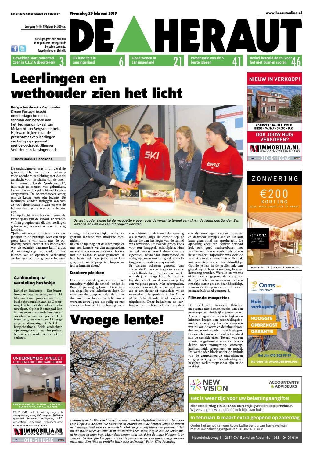 c4c3883bfec0 Heraut week 8 2019 by Nieuwsblad De Heraut - issuu