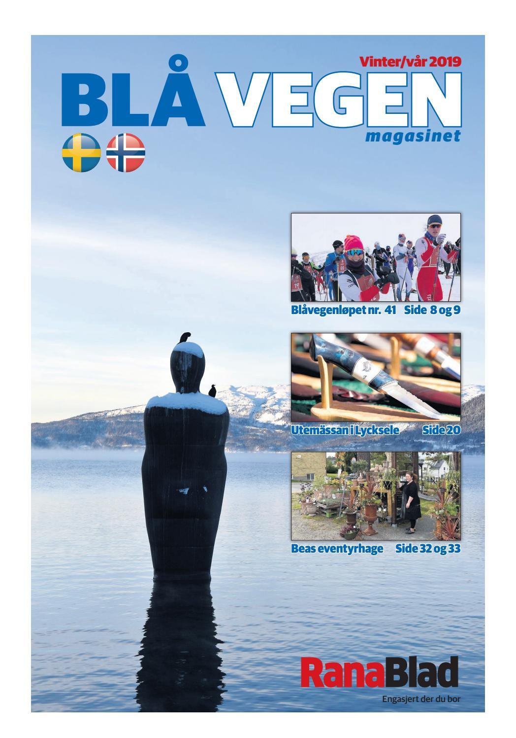 faba6ce2 Blå Vegen magasinet vinter/vår 2019 by Rana Blad - issuu