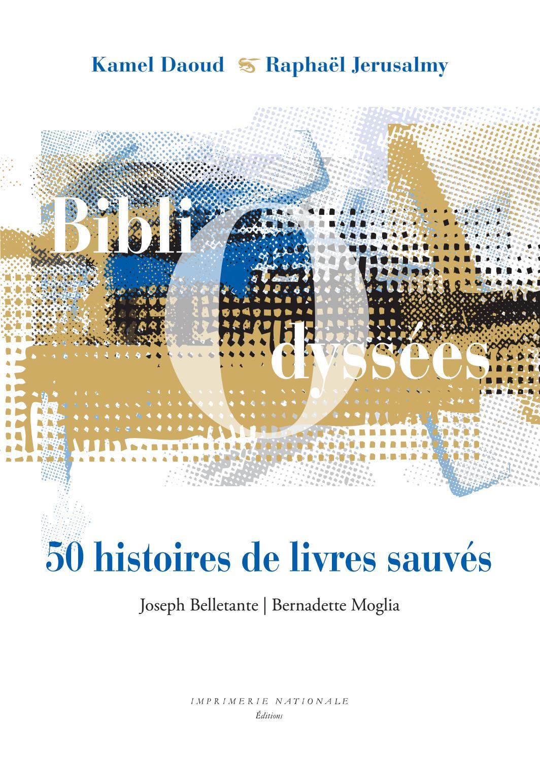 Extrait Bibliodyssees 50 Histoires De Livres Sauves By