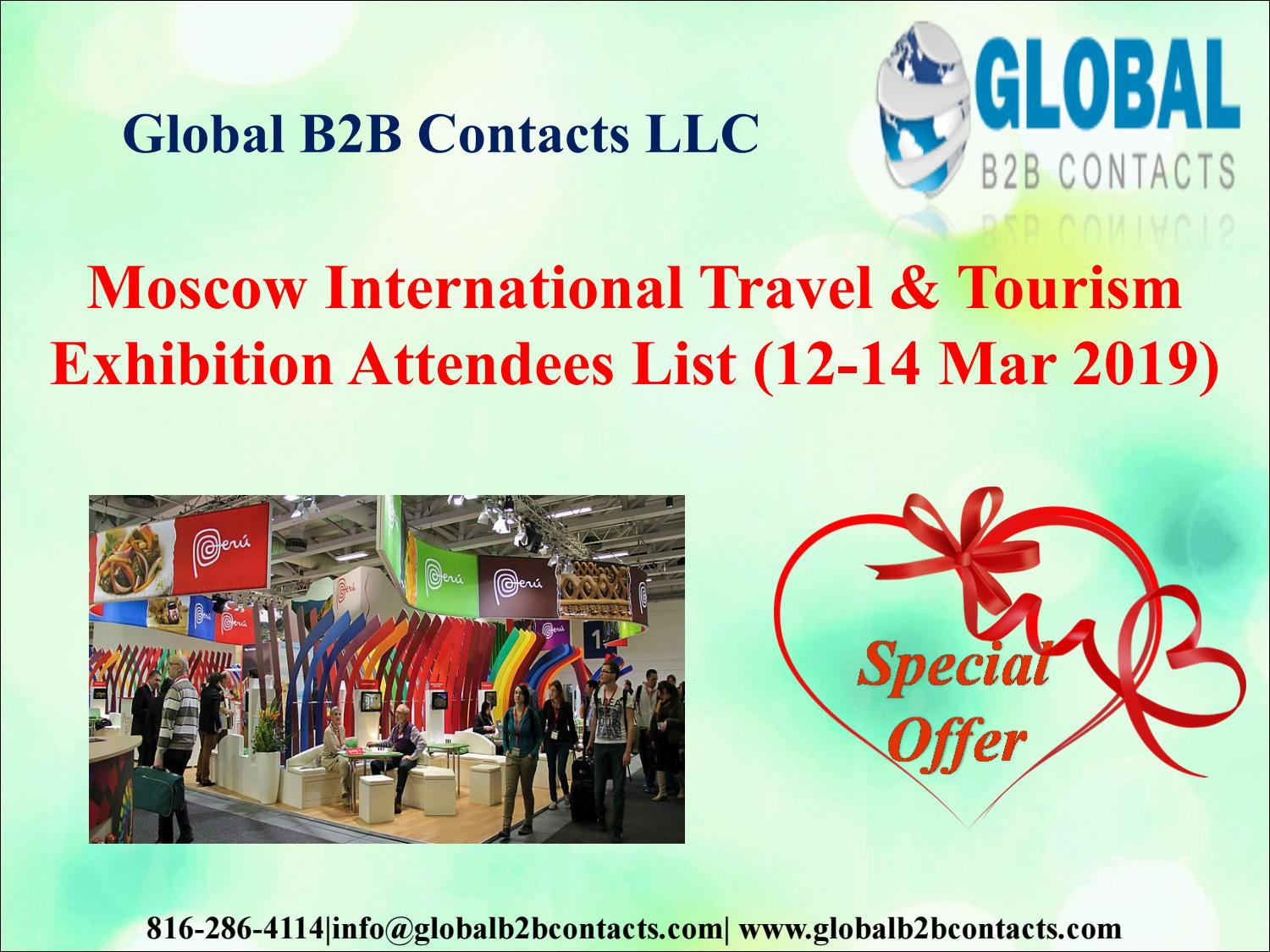 Moscow International Travel & Tourism Exhibition Attendees List (12