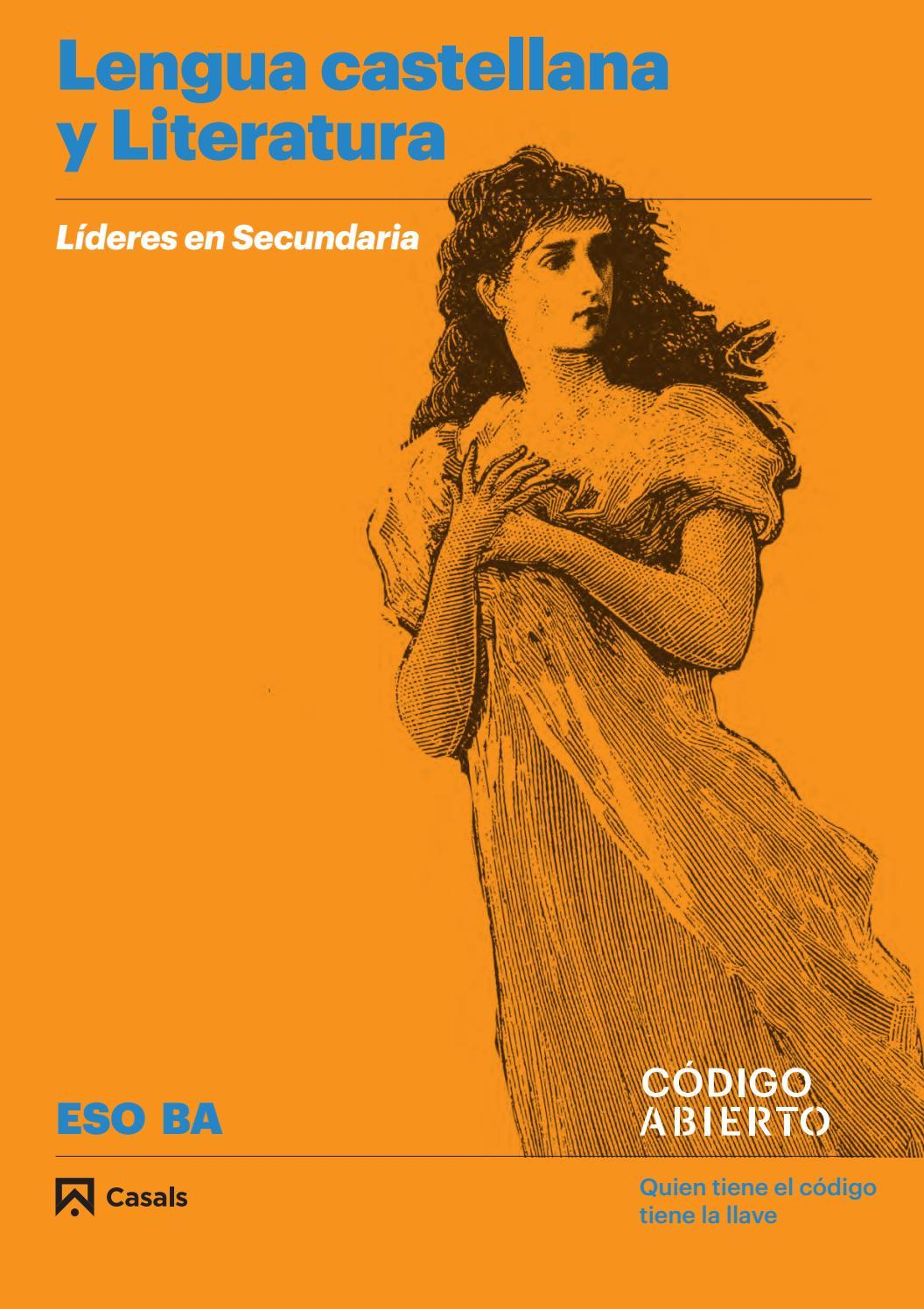 7c3b1452b03d Lengua Castellana y Literatura ESO y Bachillerato by Editorial Casals -  issuu