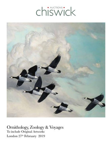 Chiswick-Auctions-Ornithology, Zoology-&-Voyages-February