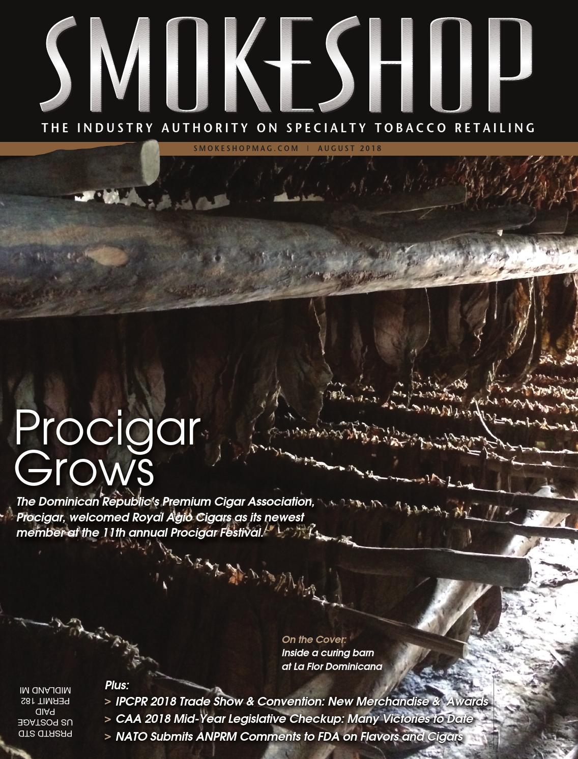 Smokeshop Magazine – August 2018 by Smokeshop Magazine - issuu