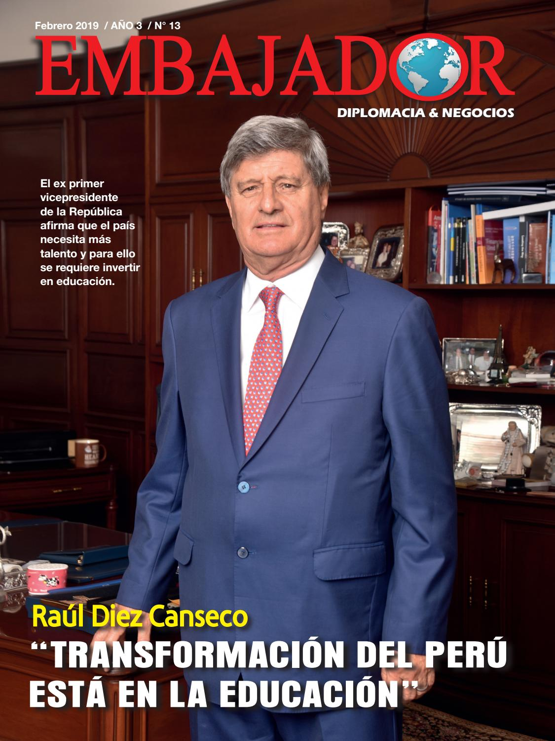 Embajador Febrero 2019 By Revista Embajador Issuu