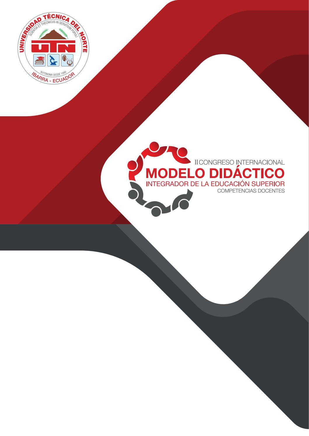 92c06ed3282 II Congreso Internacional Modelo Didáctico by Editorial Universidad Técnica  del Norte UTN - issuu