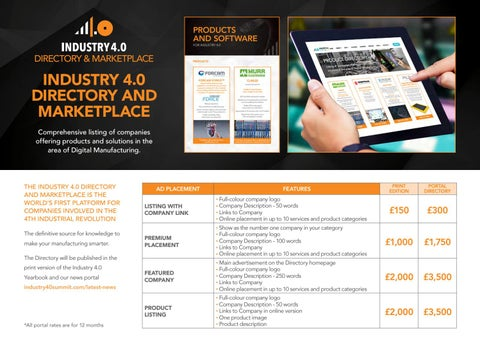 Page 13 of Industry 4.0 Directory