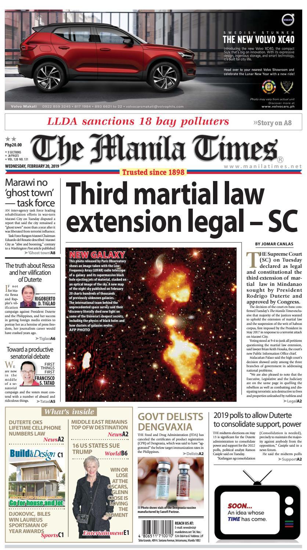 THE MANILA TIMES |FEBRUARY 20, 2019 by The Manila Times - issuu