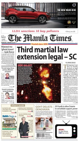 THE MANILA TIMES FEBRUARY 20 2019 by The Manila Times issuu