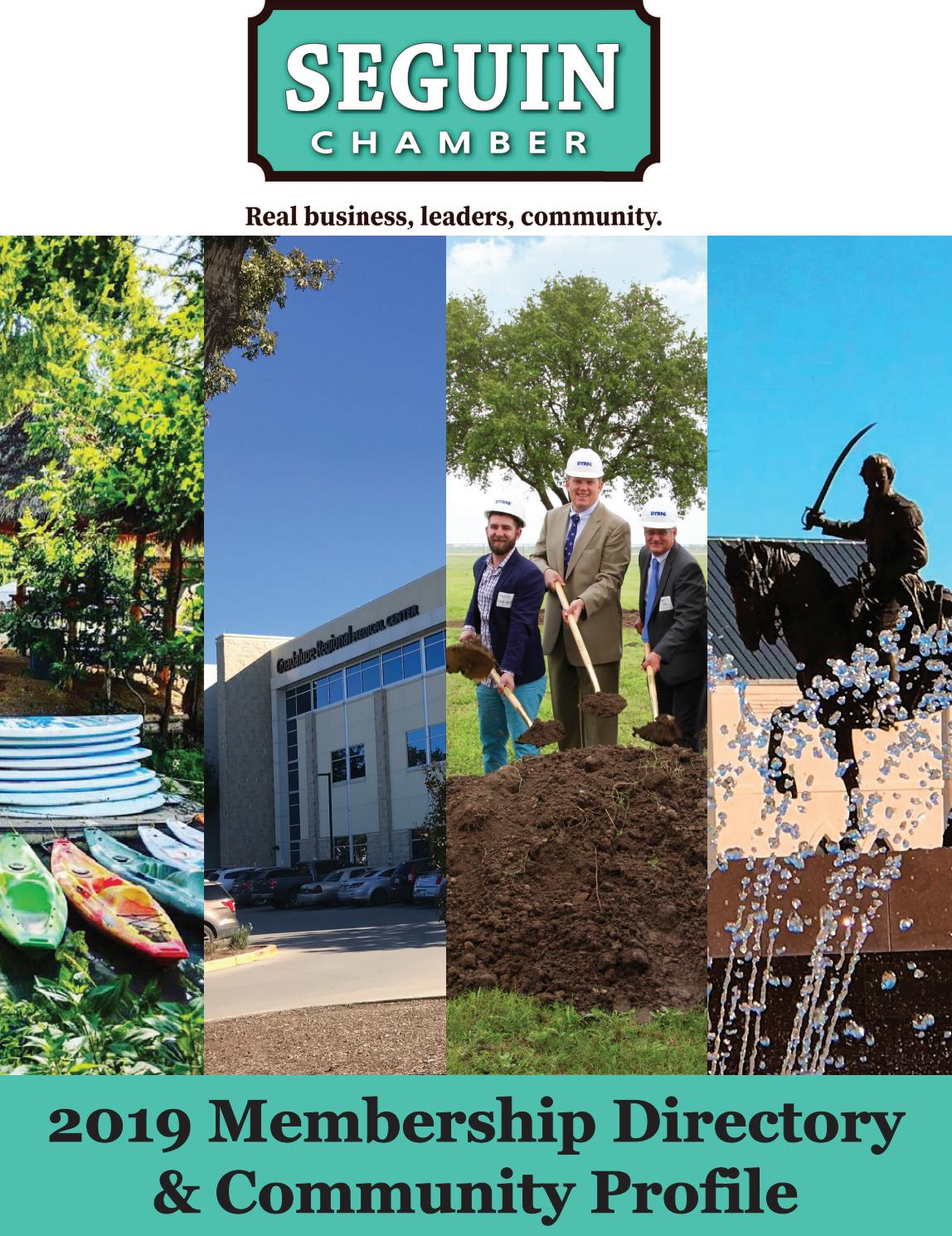 1aead3ed2ba 2019 Seguin Chamber of Commerce Business Directory by Seguin Gazette ...