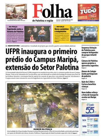 063198f84 Folha de Palotina 14/12/2018 by Folha de Palotina - issuu