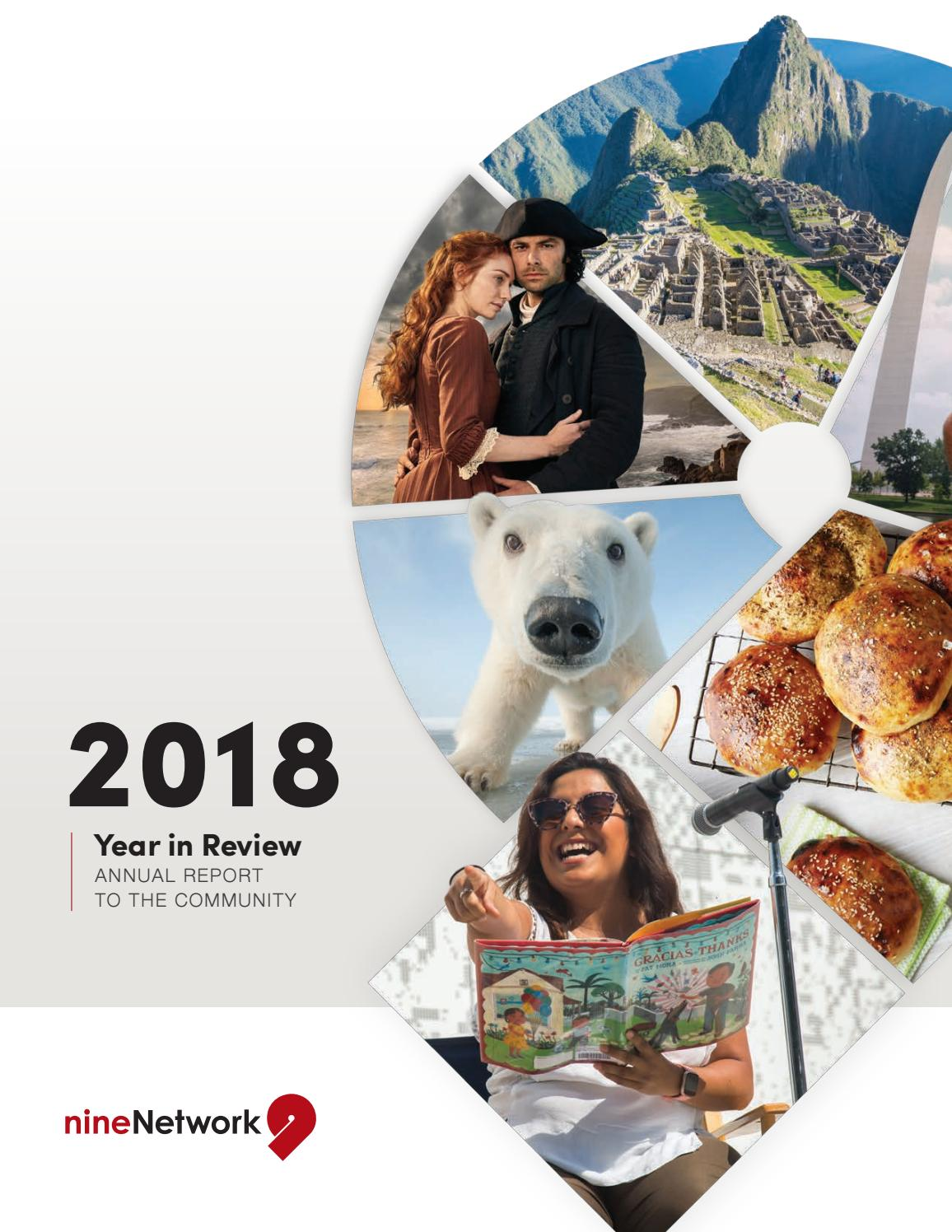 2018 Year In Review Annual Report To The Community By Nine
