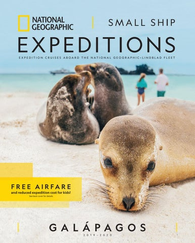 2019-2020 National Geographic Expeditions Small Ship