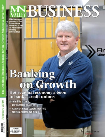 99cd08ef8aa The Definitive Business Journal for the Greater Minnesota River Valley  Februar y 2019