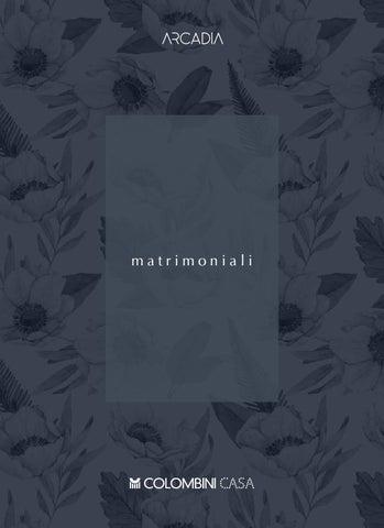 Colombini Arcadia Matrimoniali catalogo camere da letto by ...