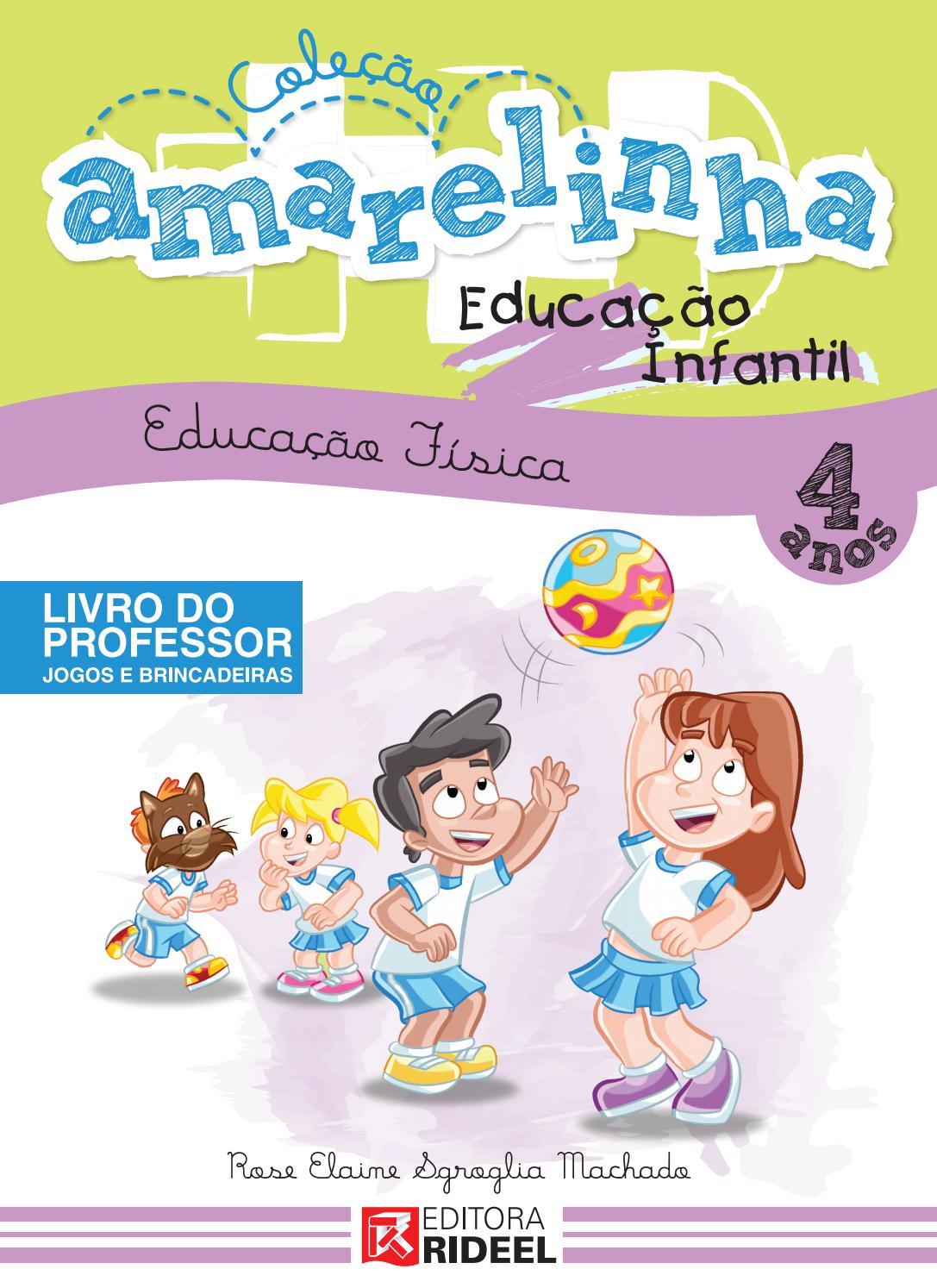 Colecao Amarelinha 4 Anos By Editora Rideel Issuu