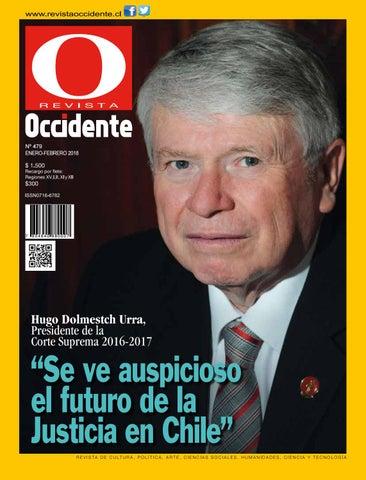 ec06910e50be Revista Occidente Nº 480 | Enero 2018 by Gran Logia de Chile - issuu