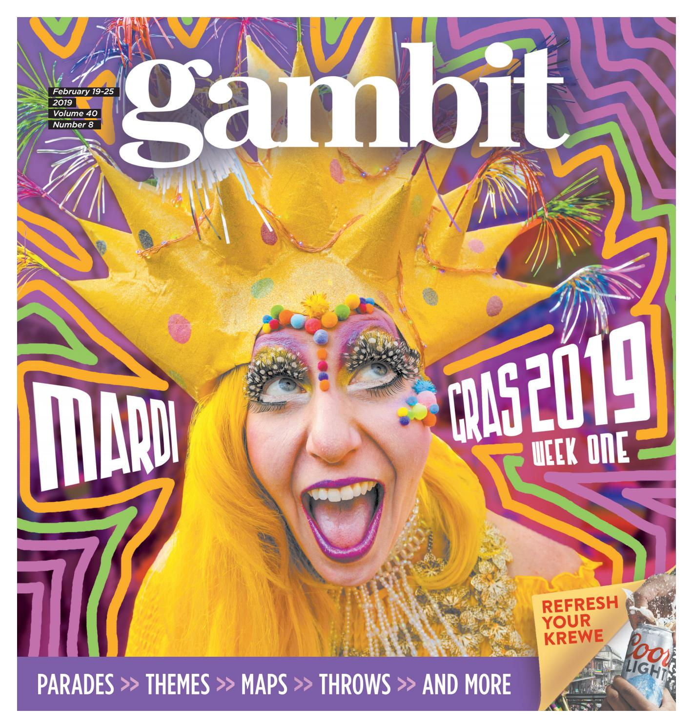 Harahan Christmas Parade 2021 Permit Gambit New Orleans February 19 2019 By Gambit New Orleans Issuu