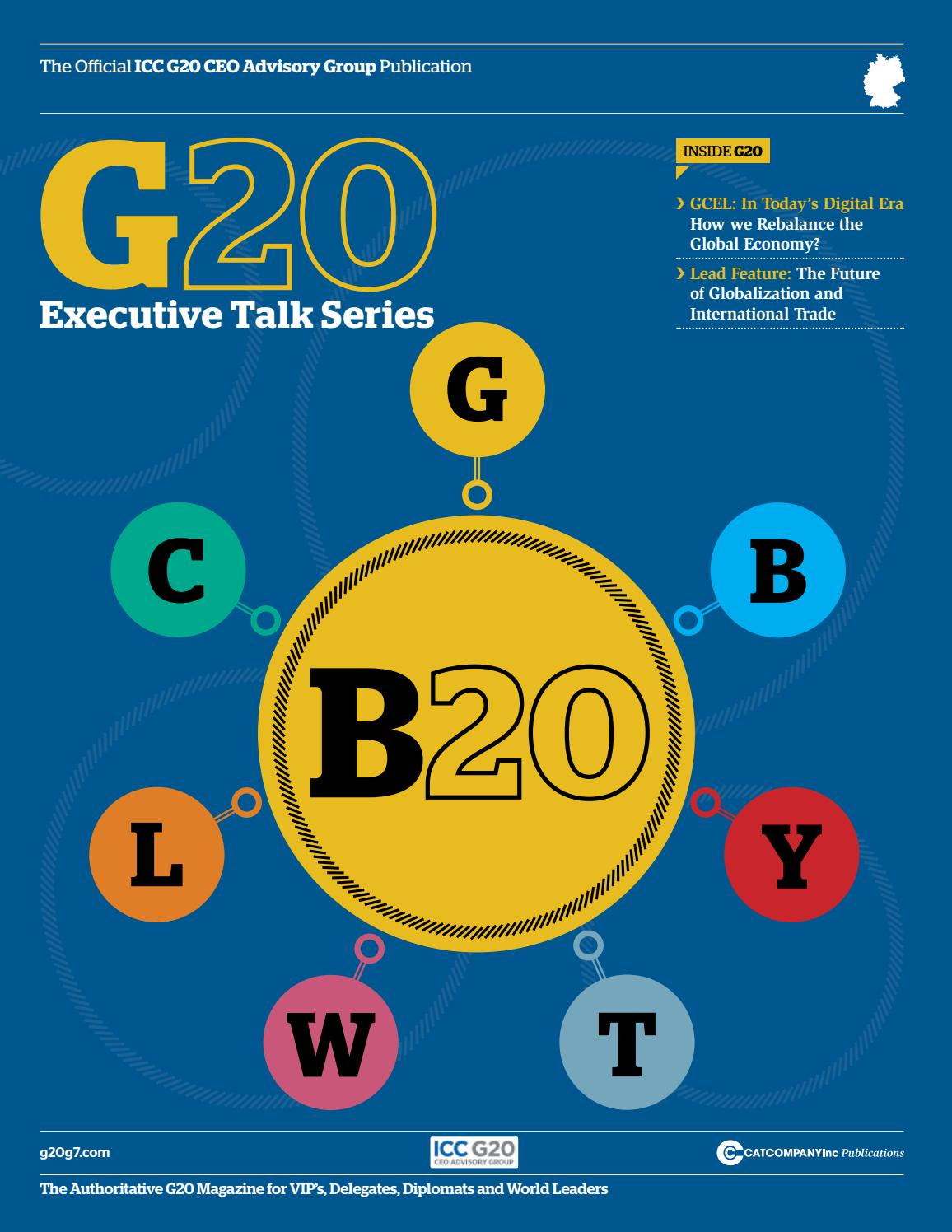 best service 818a3 55053 Official G20 Business Summit publication by The CAT Company Inc - issuu