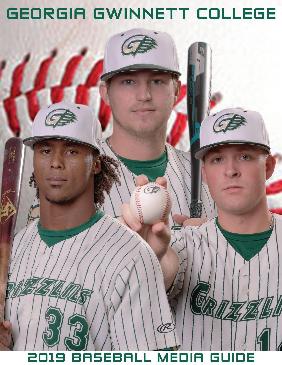 dd9b2582784 2019 Georgia Gwinnett College Baseball Media Guide by Grizzly Athletics -  issuu
