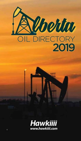 Alberta Oil Directory 2019 by DEL Communications Inc  - issuu